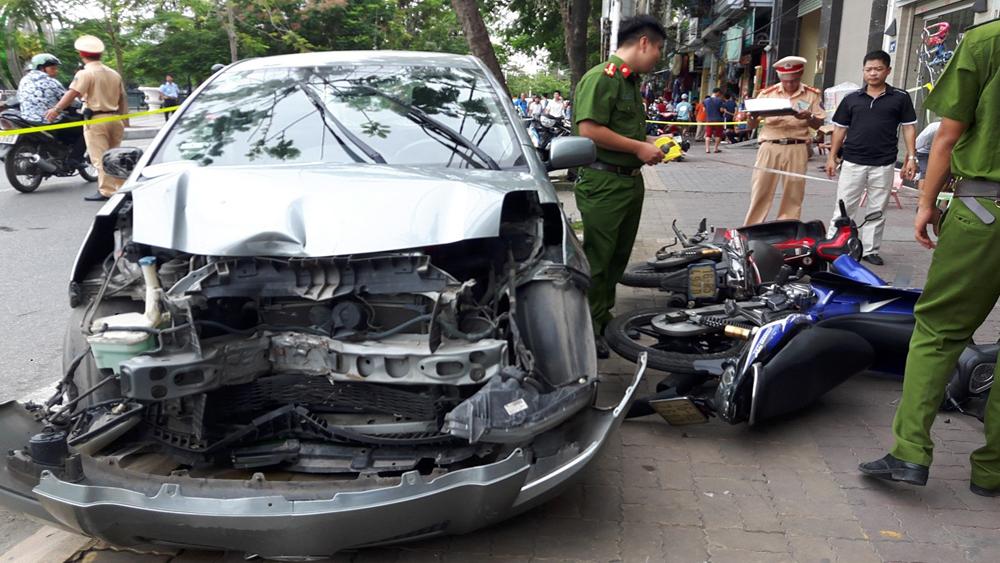 Bắc Giang: Hai người thương vong do tai nạn giao thông